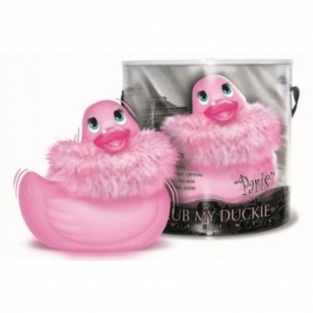 I rub my duckie canard vibrant paris rose - i rub my duckie -198373