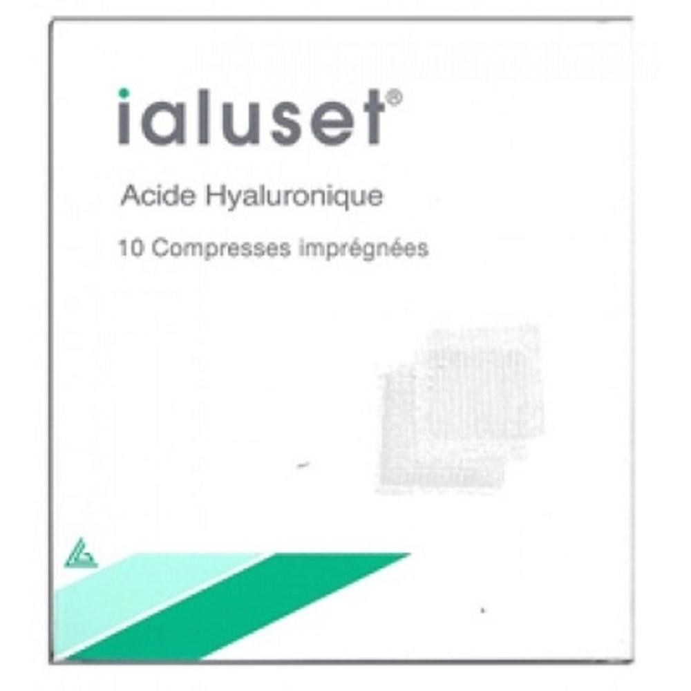 Ialuset compresses imprégnées - genevrier -148587