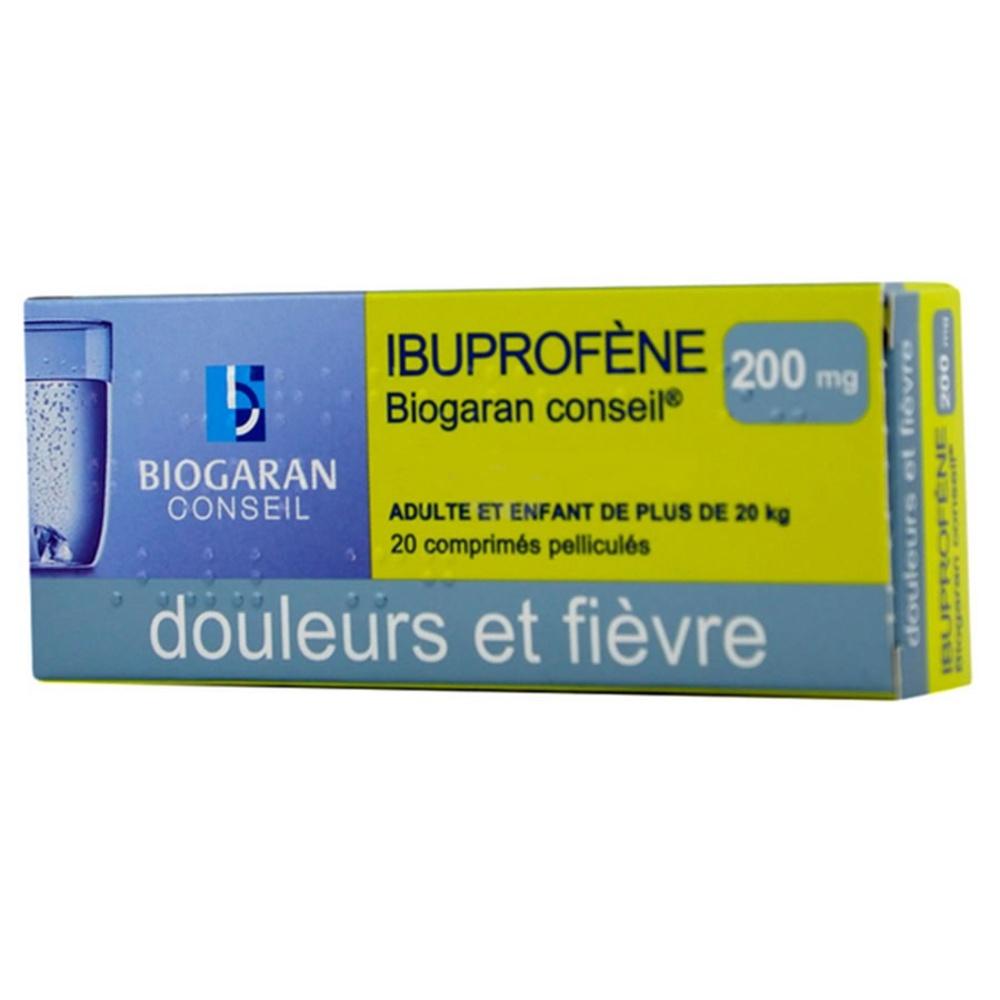 Ibuprofene  conseil 200mg Biogaran-192483