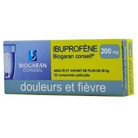 Ibuprofene  conseil 200mg - biogaran -192483
