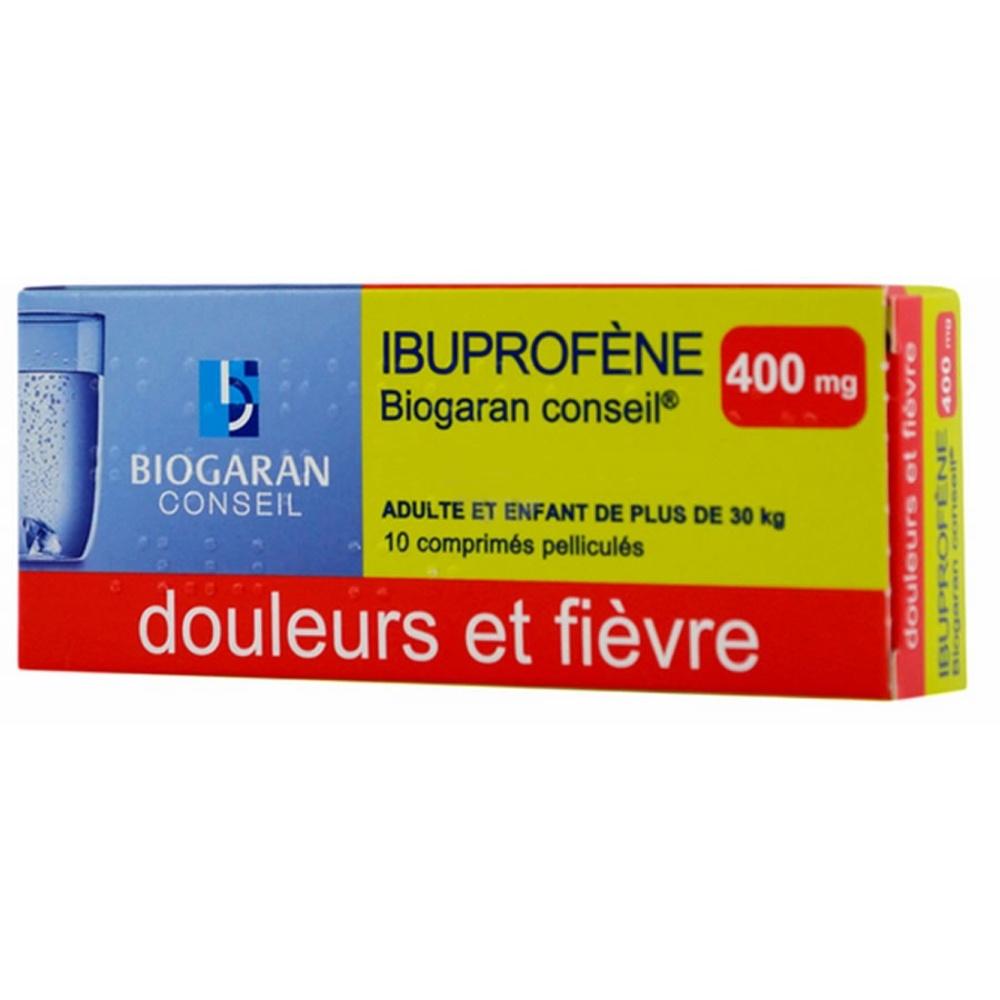Ibuprofene  conseil 400mg - biogaran -192484