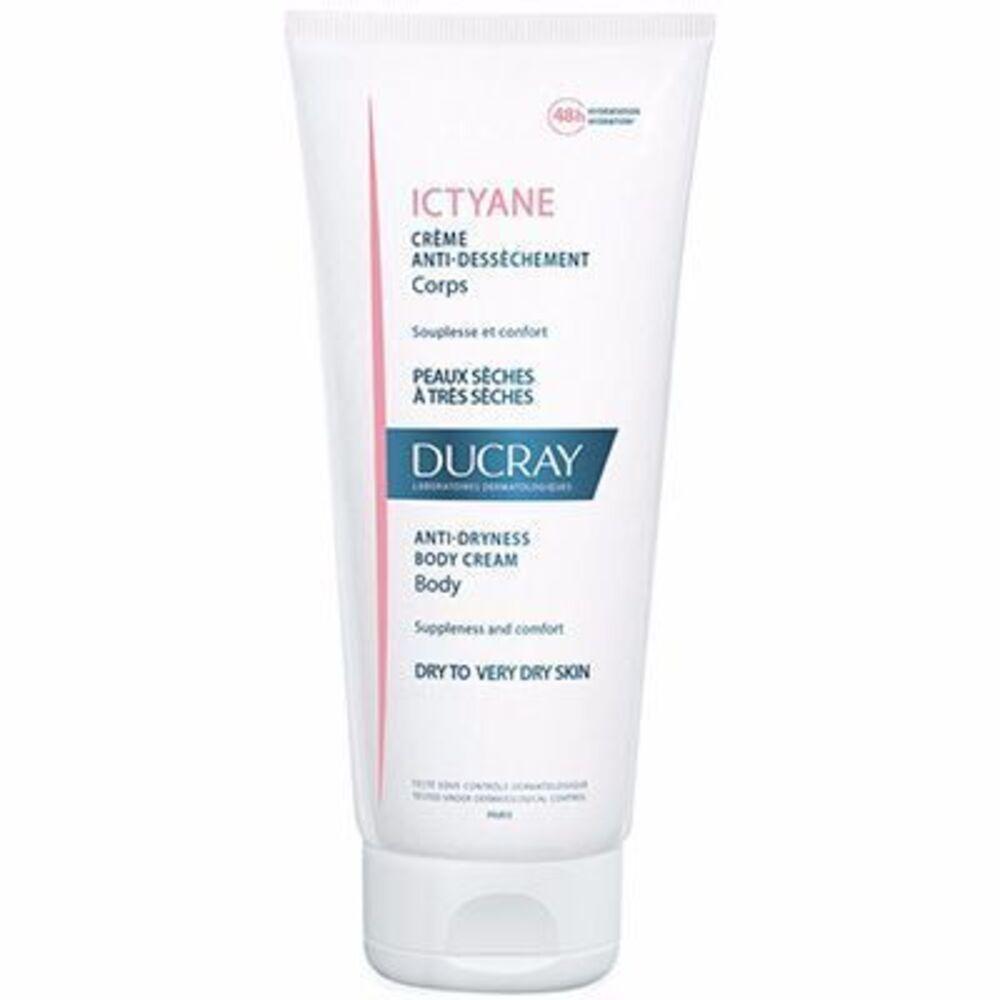 Ictyane Crème Anti-dessèchement Corps 200ml - Ducray -215203