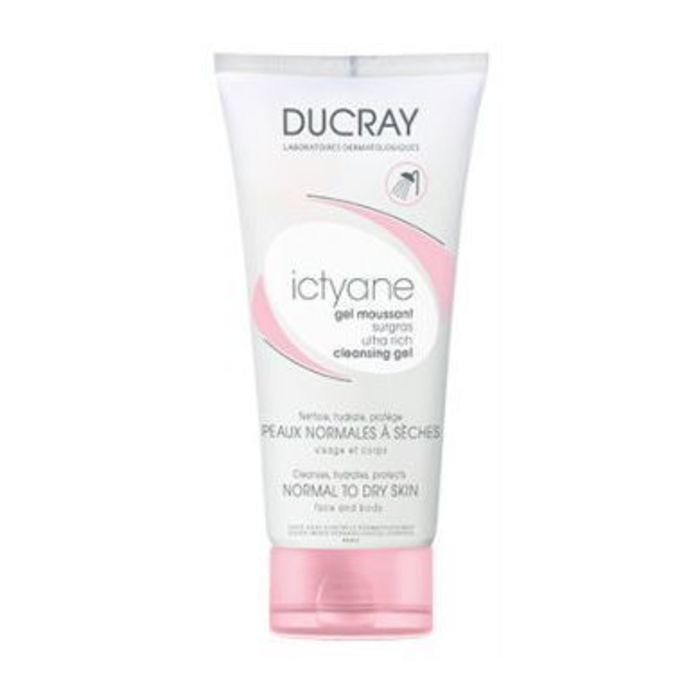 Ictyane gel moussant surgras - 200ml Ducray-204134