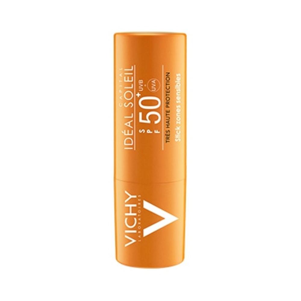Ideal soleil stick spf50+ - 9.0 g - solaire - vichy Visage et zones sensibles-83199