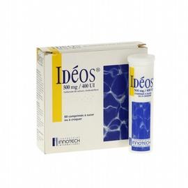 Ideos - 60 comprimés à croquer - laboratoire innotech international -192288
