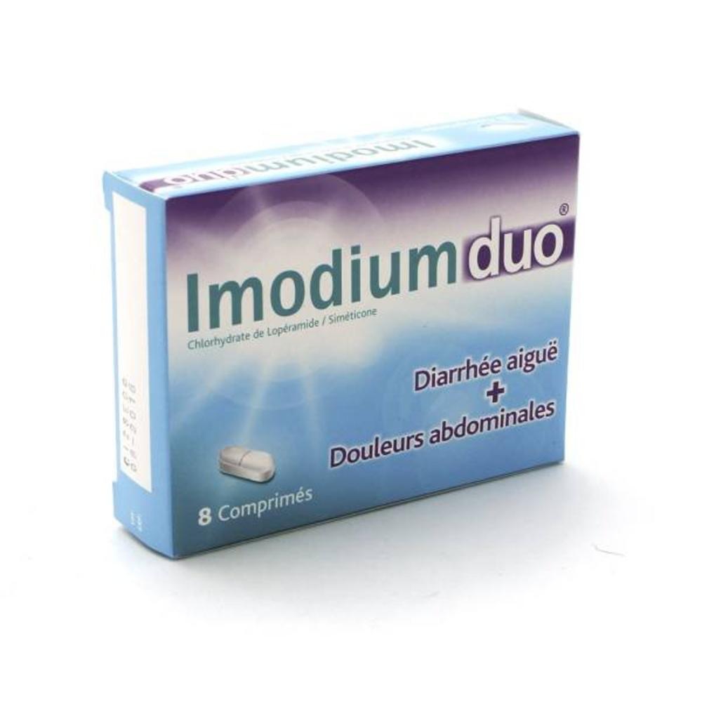 Imodiumduo - 8 comprimés - johnson & johnson -206907