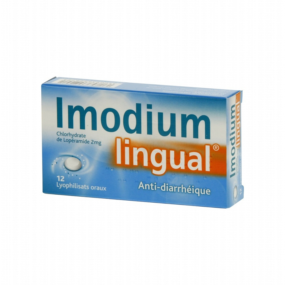 Imodiumlingual 2mg - 12 lyophilisats - johnson & johnson -192829
