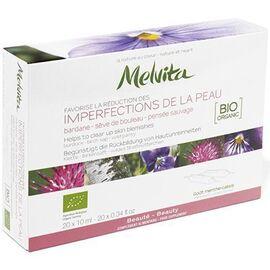 Imperfections de la peau bio 20 ampoules - les complements alimentaires - melvita -213506