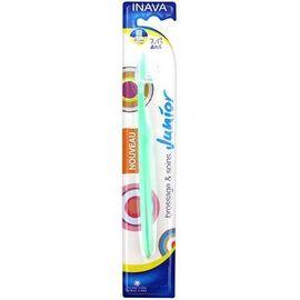 Inava brosse à dents junior vert 7/12 ans - inava -226630