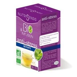 Infusion anti-stress bio - 20 sachets - divers - nutrisensis -140107