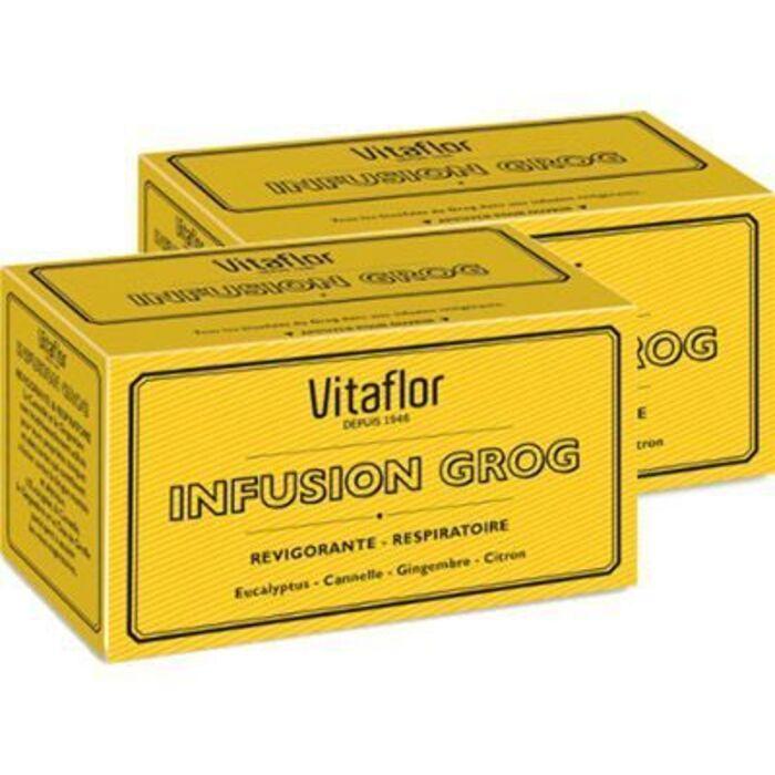 Infusion grog lot 2x18 sachets promo Vitaflor-226755