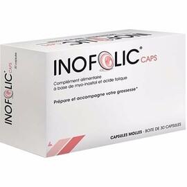 Inofolic 2 x 30 capsules - genevrier -214526