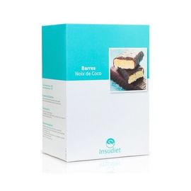 Insudiet barres noix de coco 12 barres - pileje -221758