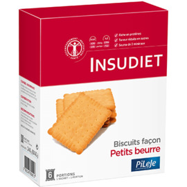 Insudiet biscuits façon petits beurres 6 portions - pileje -225527