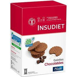 Insudiet galettes chocolatées 6 portions - pileje -221406