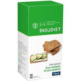 Insudiet pain spécial aux céréales et aux graines 7 portions - pileje -221408