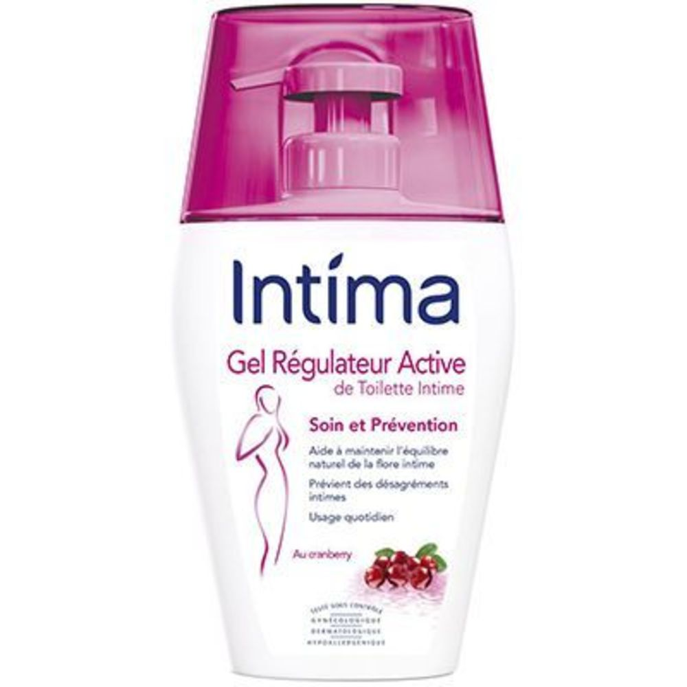 Intima gyn'expert gel quotidien de toilette intime régulateur active 240ml - reckitt benckiser -221632