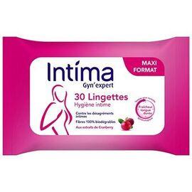 Intima gyn'expert lingettes hygiène intime x30 - reckitt benckiser -221634