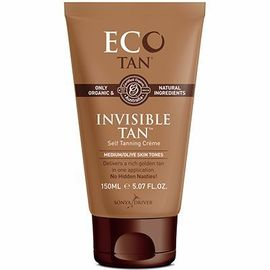Invisible tan crème autobronzante peaux medium 150ml - eco by sonya -215164