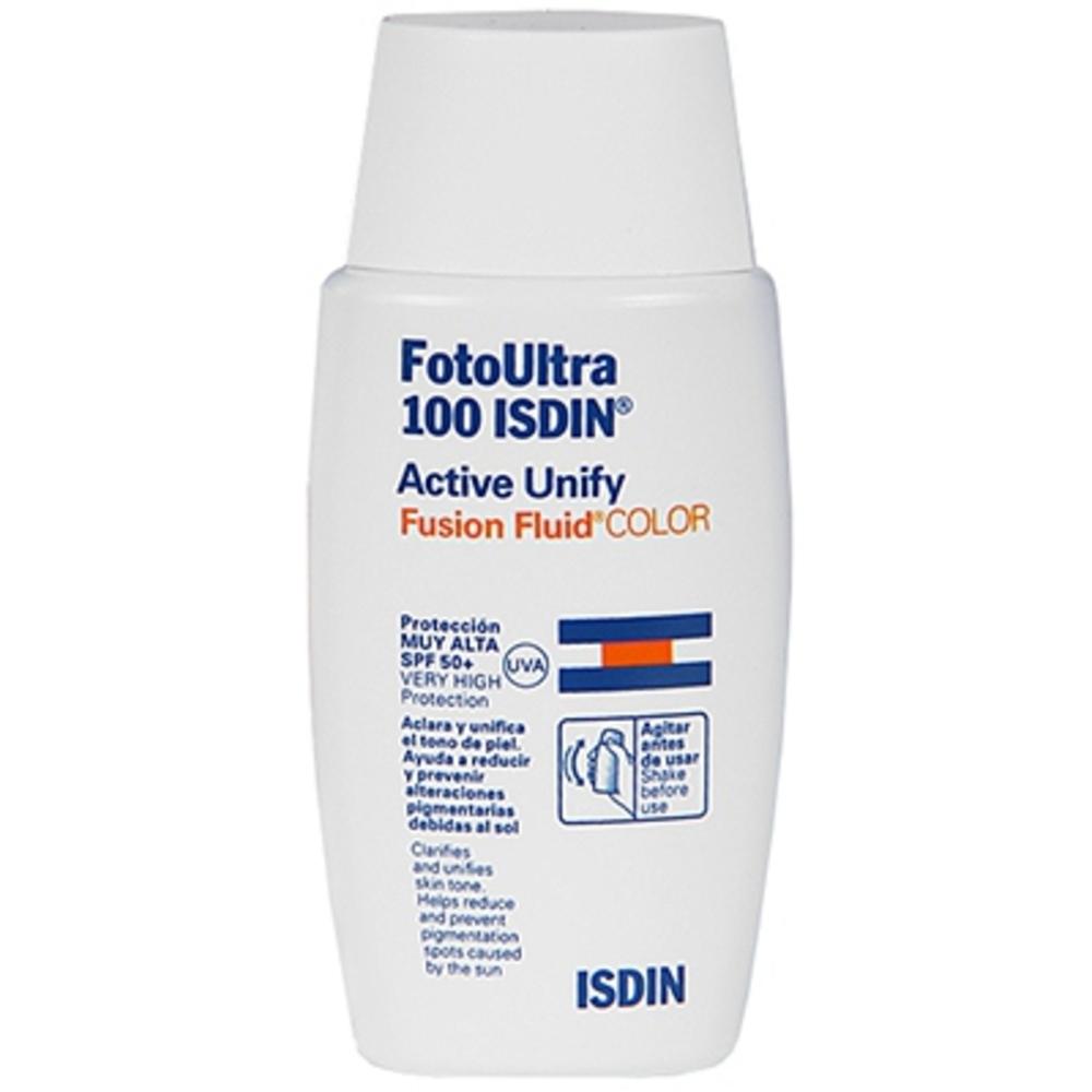 ISDIN Foto Ultra Active Unify Fluid SPF50+ Teinté - Isdin -202943