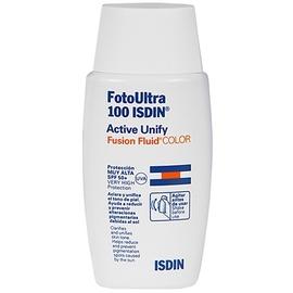 Isdin uv care fotoultra active unify fusion fluid color spf50+ 50ml - isdin -202943