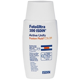 Isdin uv care fotoultra active unify fusion fluid spf50+ 50ml - isdin -202943