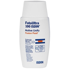 Isdin uv care fotoultra active unify fusion fluid spf50+ 50ml - isdin -202952
