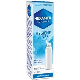 Isotonique spray hygiène du nez - 100ml - hexamer -212285