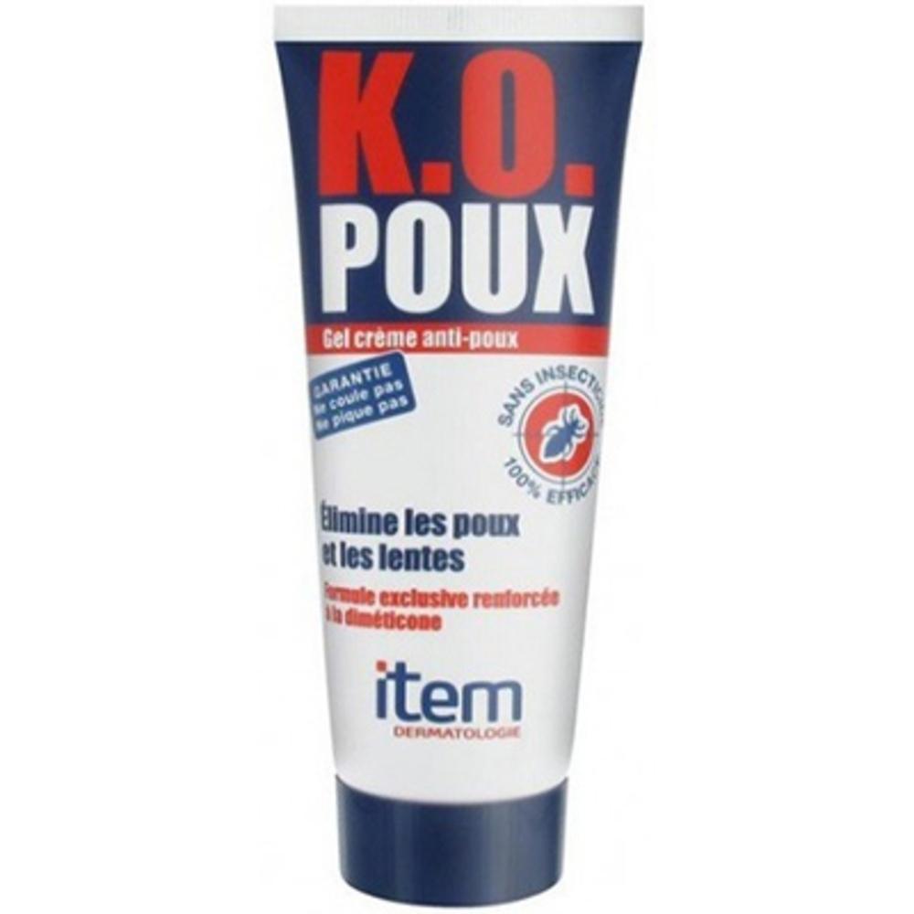 Item k.o. poux gel crème anti-poux - 100ml - 100.0 ml - item -144689