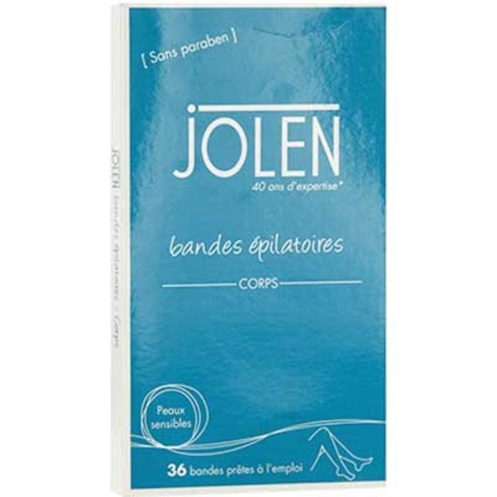 JOLEN Bandes Epilatoires Corps - 36 bandes prêtes à l'emploi - Jolen -200481