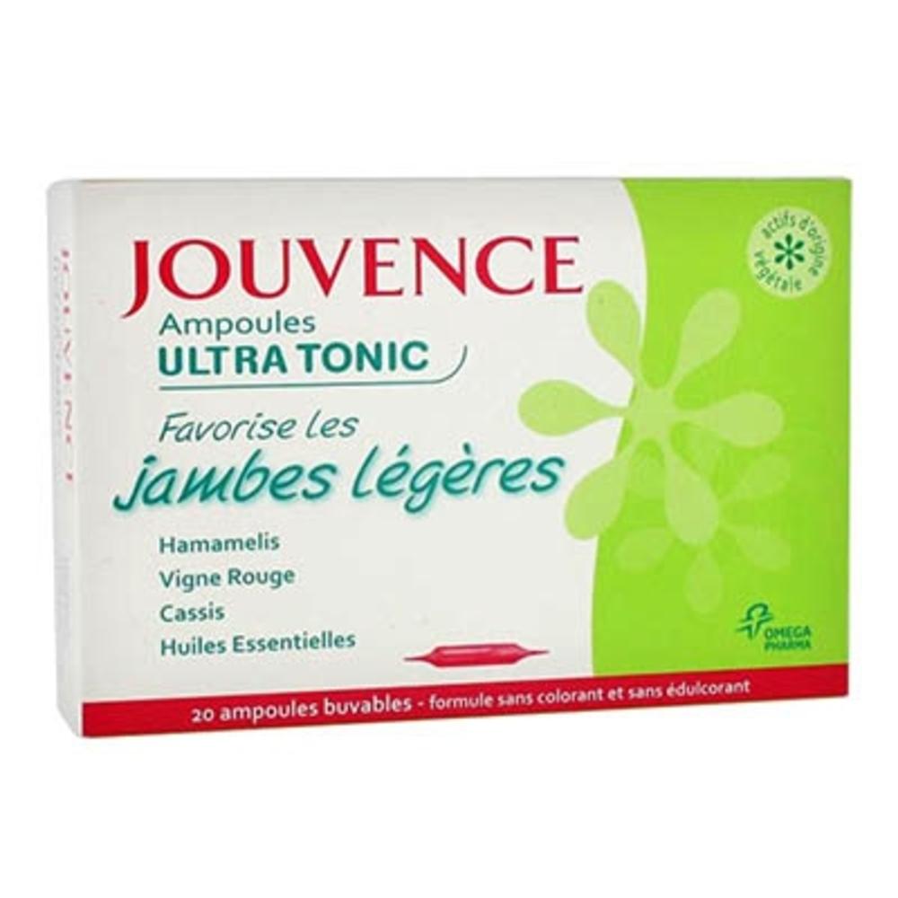 Jouvence ampoules ultra tonic - 200.0 ml - jouvence -143627