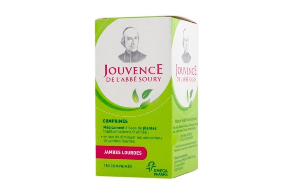 Jouvence de l'abbe soury - 180 comprimés - omega pharma -194226