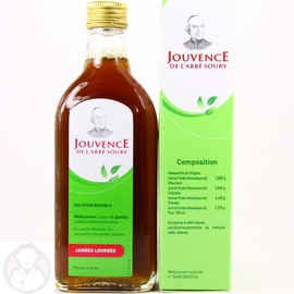 JOUVENCE DE L'ABBE SOURY - 210ml - 210.0 ml - Troubles de la Circulation - Jouvence de l'Abbe Soury -5088