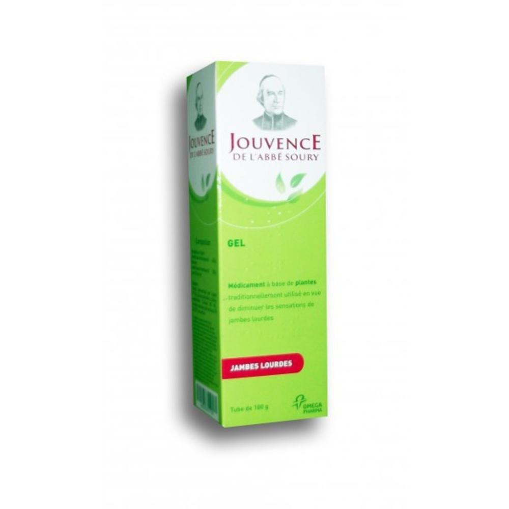 Jouvence de l'abbe soury gel - 100g - omega pharma -206960