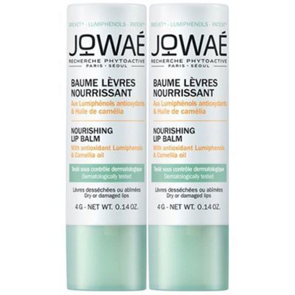 Jowae offre découverte duo baume lèvres nourrissant 4g - jowae -221917