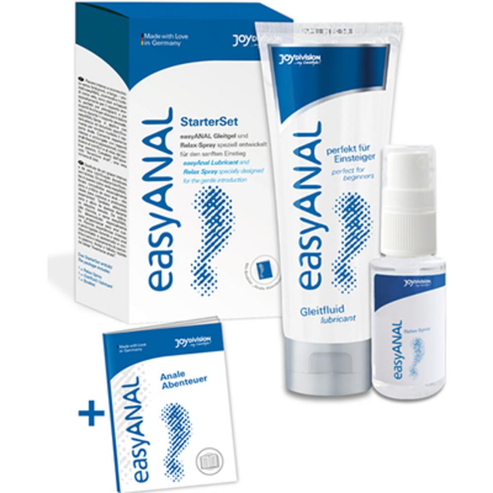 Joydivision easyanal starterset kit lubrifiant & spray relaxant - joydivision -223852