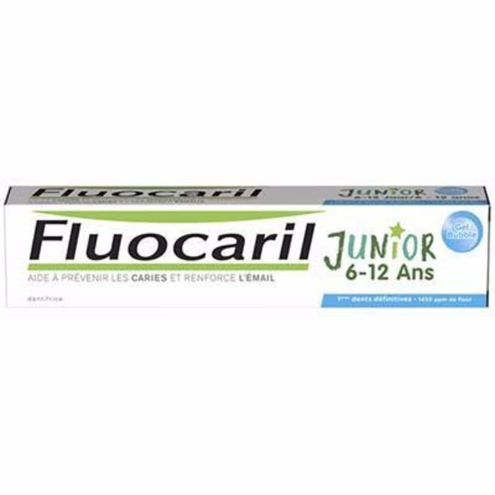 Junior 6-12ans gel dentifrice bubble 75ml Fluocaril-216142