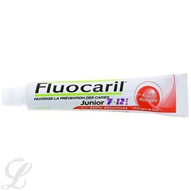 Junior dentifrice fruits rouges - 50.0 ml - fluocaril -190185