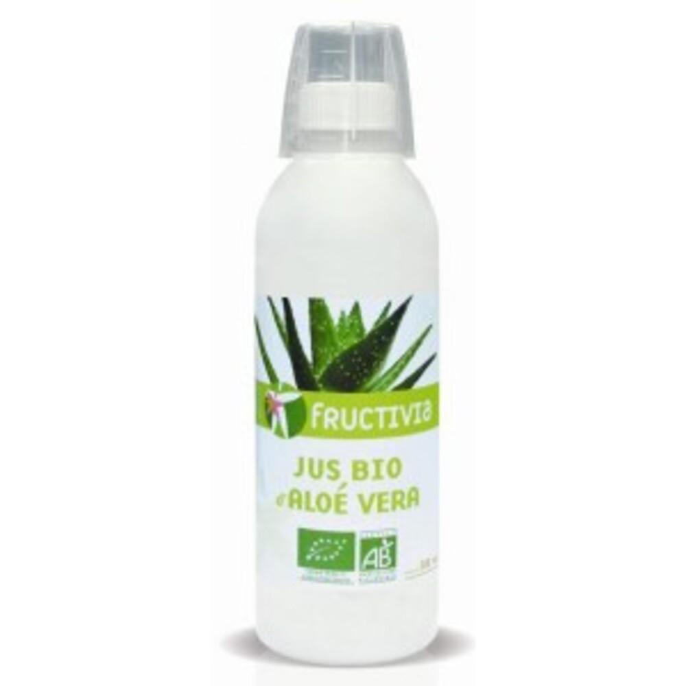 Jus d'aloé vera bio - bouteille 500 ml - divers - fructivia -136081