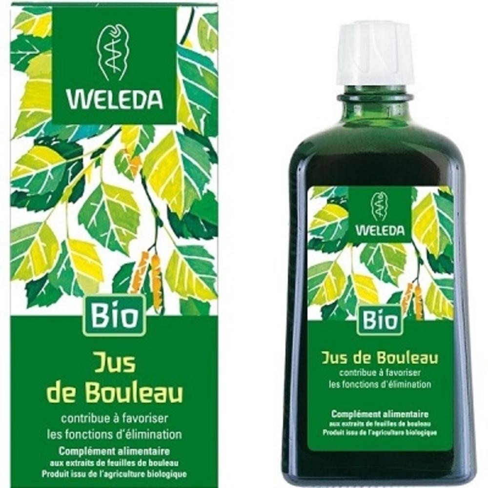 Jus de bouleau - 200.0 ml - jus-sirops - weleda Contribue à favoriser les fonctions d'élimination-564