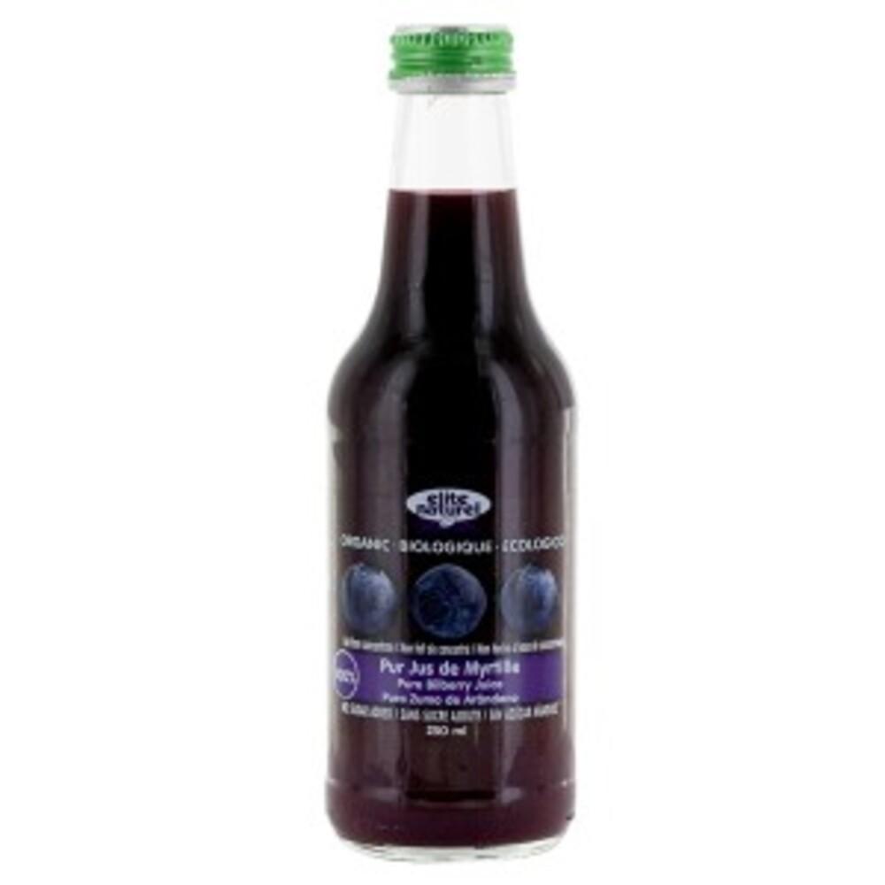 Jus de myrtille bio - 250 ml - divers - elite naturel -141129