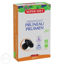 Jus de pruneau bio - 20.0 unites - elimination-minéralisation - super diet Origine Aquitaine-141515