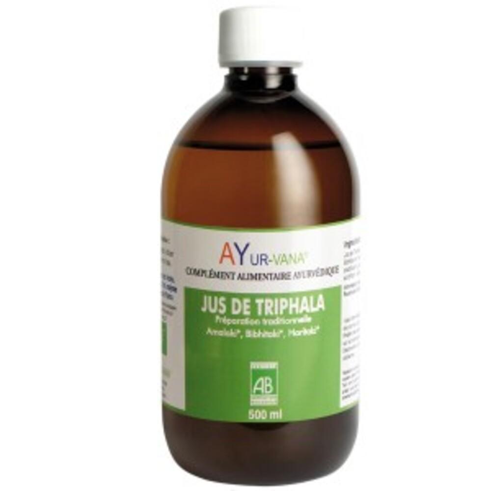 Jus de triphala bio - bouteille de 500 ml - divers - ayur-vana -133600