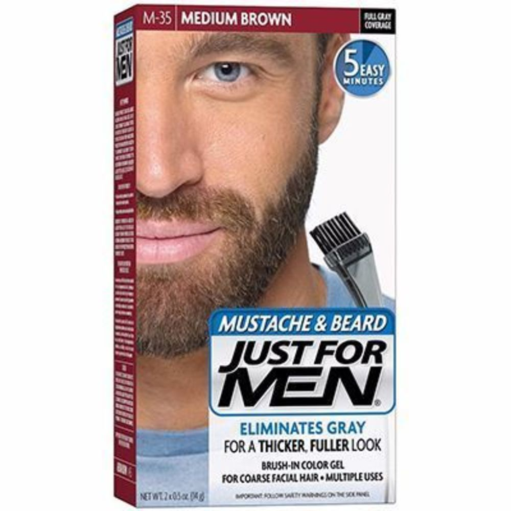 Just for men coloration barbe châtain m35 - just for men -215030