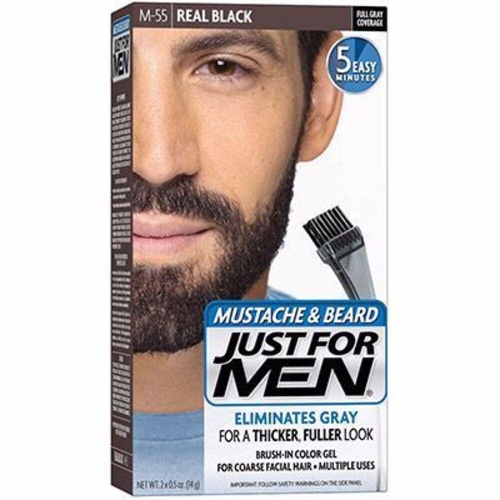 Just for men coloration barbe noir naturel m55 - just for men -215031