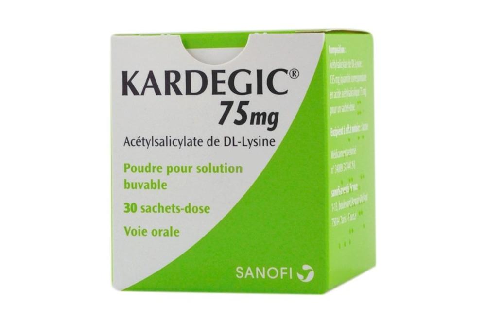 Kardegic 75mg - 30 sachets Sanofi-192192