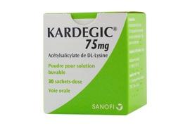 Kardegic 75mg - 30 sachets - 75.0 mg - sanofi -192192