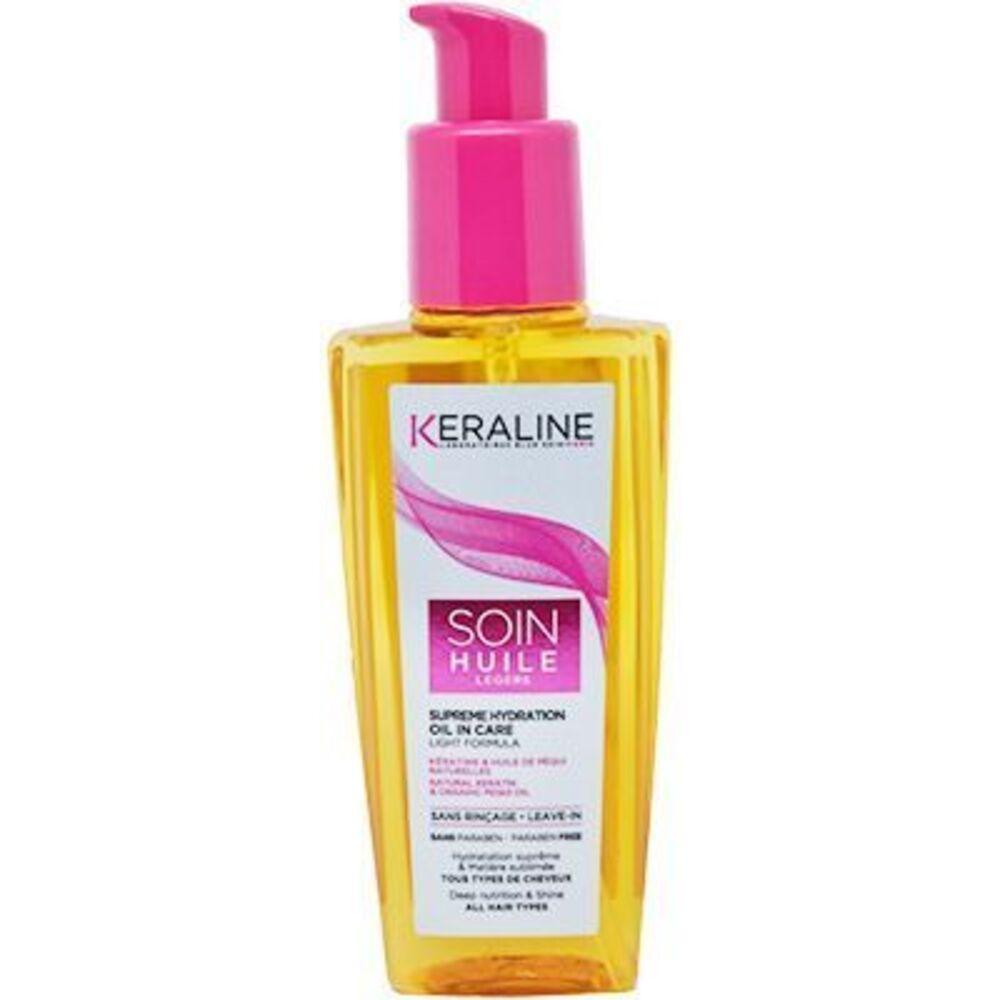 Keraline soin huile légère 100ml - keraline -223374