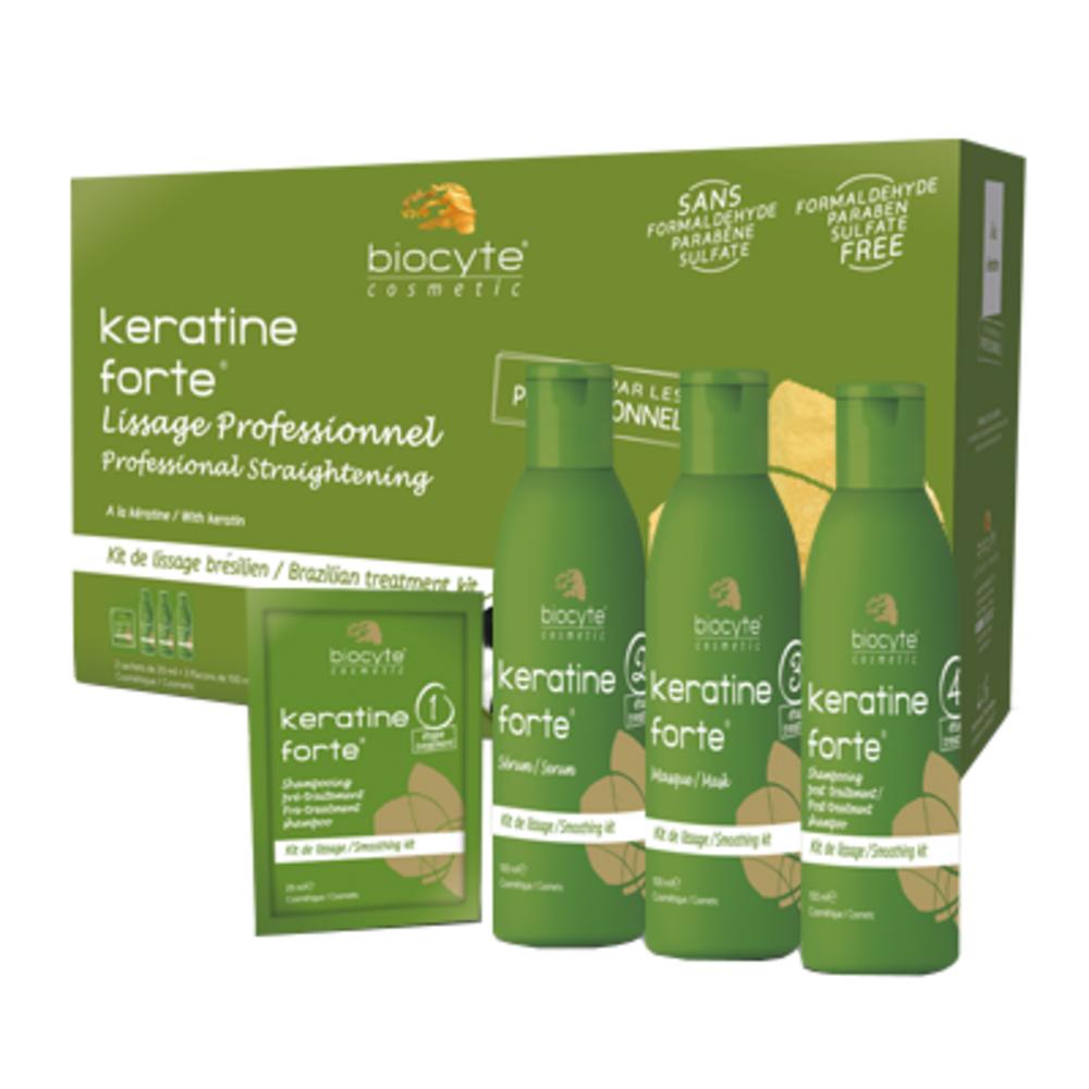 Keratine Forte Kit Lissage Brésilien - divers - Biocyte -188809
