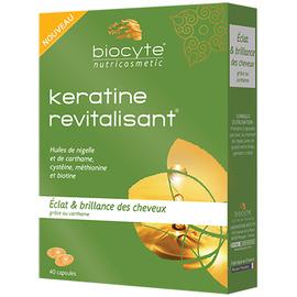 Keratine revitalisant - 40 capsules - biocyte -205771